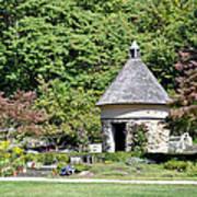 Fernwood Botanical Garden Stone Herb House Usa Poster