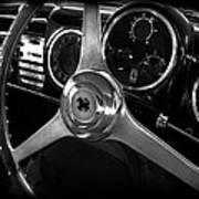 Ferrari 166 Interior Poster