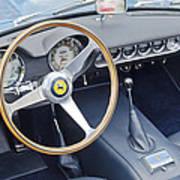 Ferrari 250 Gt Scaglietti Swb California Spyder 1961 Poster