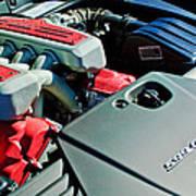 Ferrari 599 Gtb Engine Poster