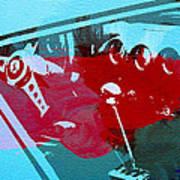 Ferrari Cockpit Poster