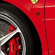 Ferrari Emblem 3 Poster by Jill Reger