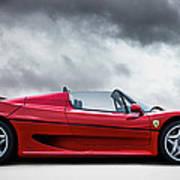 Ferrari F50 Poster