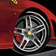 Ferrari Front End Poster