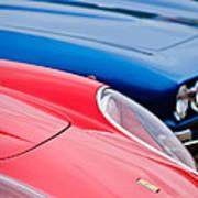 Ferrari Hood Emblem -0630c Poster