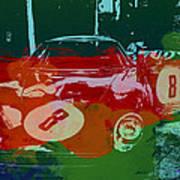 Ferrari Laguna Seca Racing Poster
