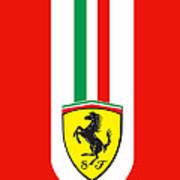 Ferrari Phone Case Poster
