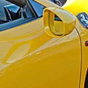 Ferrari Side Emblem Poster