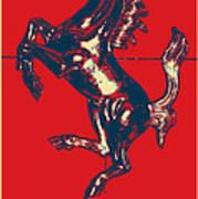 Ferrari Stallion In Hope Poster