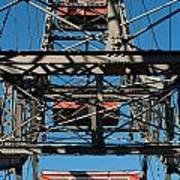 Ferris Wheel At Vienna Prater Poster