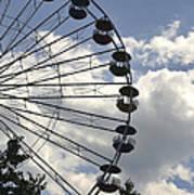 Ferris Wheel In The Sky Poster
