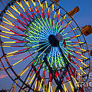 Ferris Wheel, Kentucky State Fair Poster