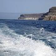 Ferry Hasta Puerto De Mogan Poster