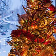 Festive Christmas Tree Poster