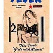 Fever - Vintage Magazines Covers Series Poster