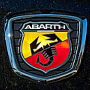 Fiat Abarth Emblem Poster