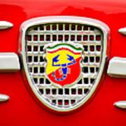 Fiat Emblem Poster by Jill Reger