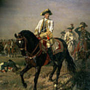 Field Marshal Baron Ernst Von Laudon 1717-90, General In The Seven Years War And War Of Bavarian Poster