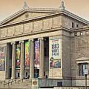 Field Museum South Facade Poster