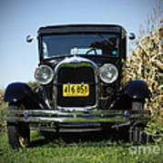 Field Of Dreams Vintage Ford Model A Tudor  Poster