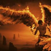 Fiery Poster