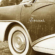 Fifties Buick Poster