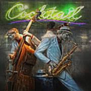 Fifties Cocktail Jazz Poster