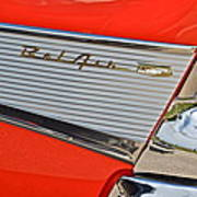 Fifty Seven Chevy Bel Air Poster