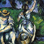 Figures By Cezanne Poster