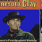 Film Homage Cameron Mitchell Minnesota Clay Lobby Card 1964-2013 Poster
