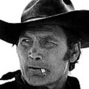 Film Homage Jack Palance Monte Walsh Set Old Tucson Arizona 1969 Poster