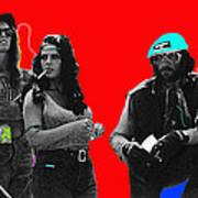 Film Homage Joe Namath C.c. And Company Golder Dam Near Tucson Arizona 1970-2009 Poster