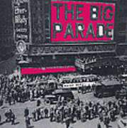 Film Homage John Gilbert King Vidor The Big Parade 1925 Color Added 2010 Poster