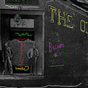 Film Homage The Quiet Man 1952 The Old Corner Saloon  Red Light District Tucson Arizona C.1880-2008  Poster