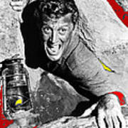Film Noir Ace In The Hole Kirk Douglas With Lantern 1951-2014 Poster