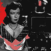 Film Noir Director Ida Lupino Color Added 2012 Poster