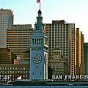 Financial District Lower Market Street San Francisco Poster