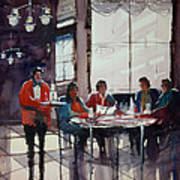 Fine Dining Poster by Ryan Radke