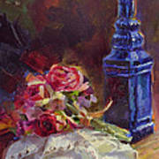 Finer Things Still Life By Karen Whitworth Poster