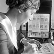 Fingerprint Analysis, 1918 Poster