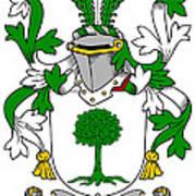 Finnerty Coat Of Arms Irish Poster