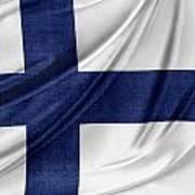 Finnish Flag Poster
