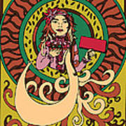 Stick  Girl Poster
