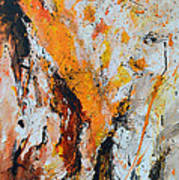 Fire And Passion - Abstract Poster by Ismeta Gruenwald