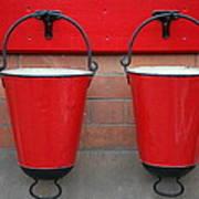 Fire Buckets Poster