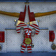 Fire Department Christmas 3 Poster