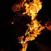 Fire Poster by Pedro Correa