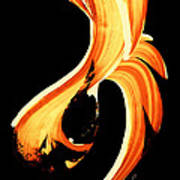 Fire Water 260 By Sharon Cummings Poster
