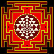 Fire Yantra Poster
