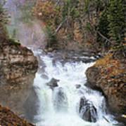 Firehole River Falls Poster